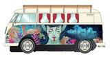 Scalextric: DPR Volkswagen Campervan (Kombi Mural) - Slot Car