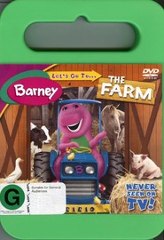 Barney - Let's Go To The Farm on DVD image
