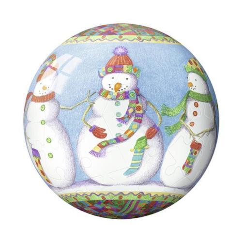 Ravensburger: Christmas Puzzle-Bauble - Snowmen