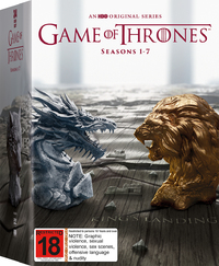Game of Thrones - The Complete First, Second, Third, Fourth, Fifth, Sixth & Seventh Season Box Set on DVD image