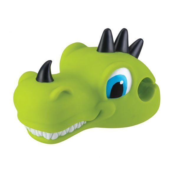 Globber: Scooter Heads - Dino (Lime Green)