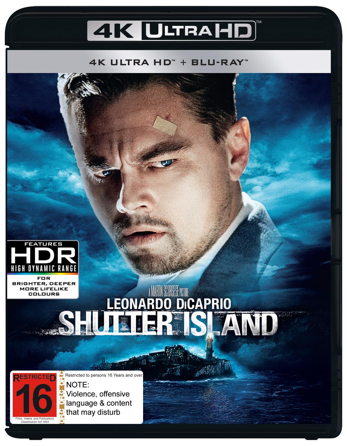 Shutter Island on UHD Blu-ray image