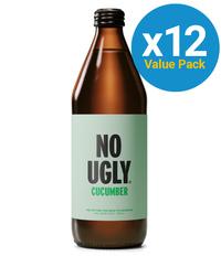 No Ugly: Wellness Tonic - Cucumber 250ml (12 Pack)