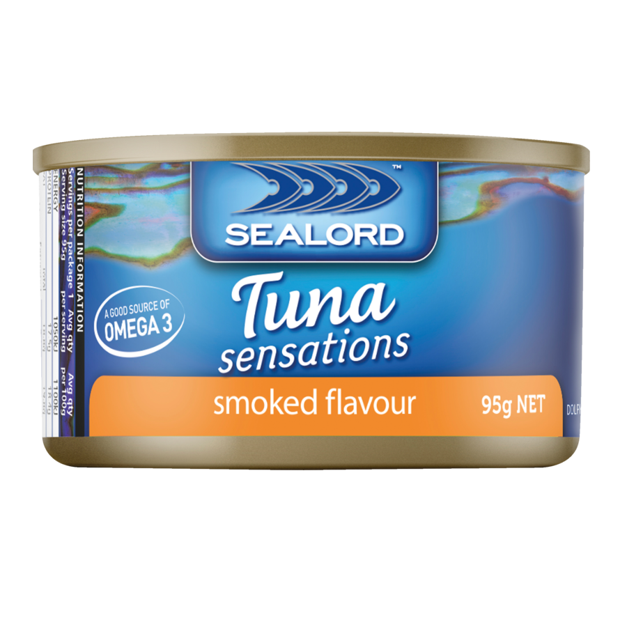 Sealord: Tuna Sensations - Smoked Flavour 95g (24 Pack) image