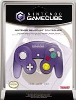 GameCube Clear Indigo Controller for GameCube