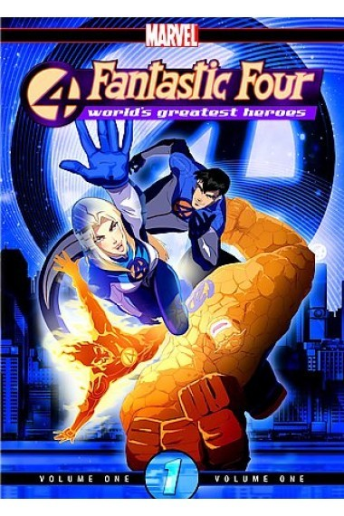 Fantastic Four - World's Greatest Heroes: Vol. 1 on DVD