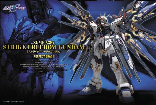 PG 1/60 Strike Freedom Gundam - Model Kit