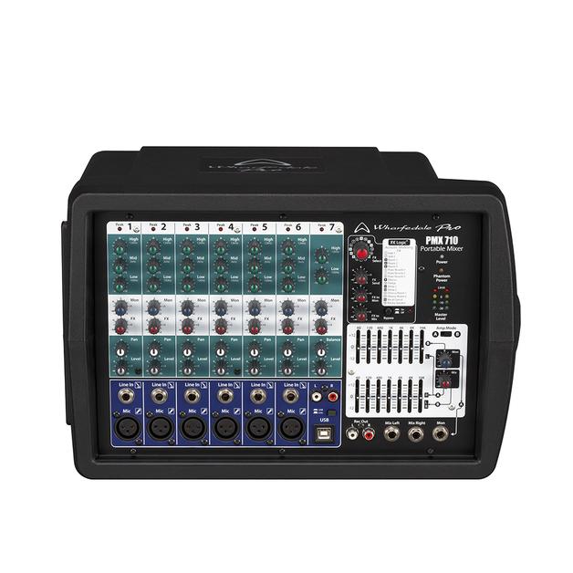 Wharfedale PMX710 2 x 250W 6-XLR Powered Mixer