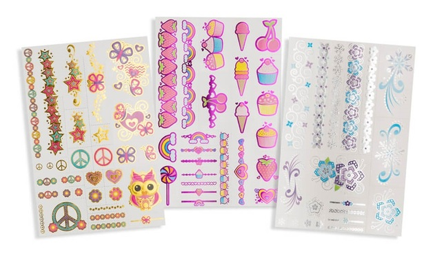 Melissa & Doug: My First Temporary Tattoos - Metallic