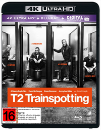 Trainspotting 2 on Blu-ray, UHD Blu-ray