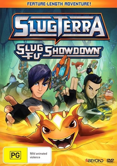 SlugTerra: Slug Fu Showdown on DVD