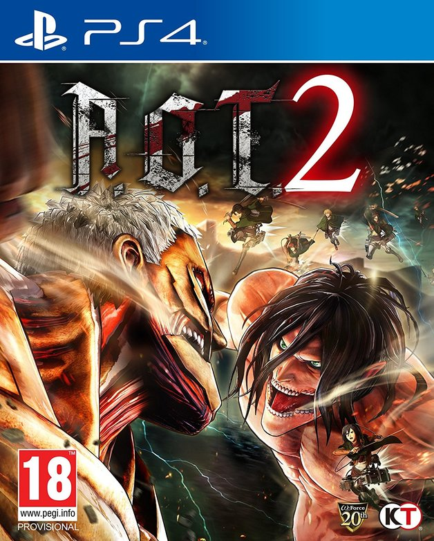 Attack on Titan 2 for PS4