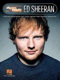 E-Z Play Today Volume 84 by Ed Sheeran