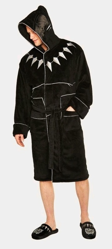 Marvel: Hooded Bathrobe - Black Panther