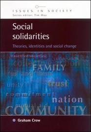 SOCIAL SOLIDARITIES by Graham Crow image