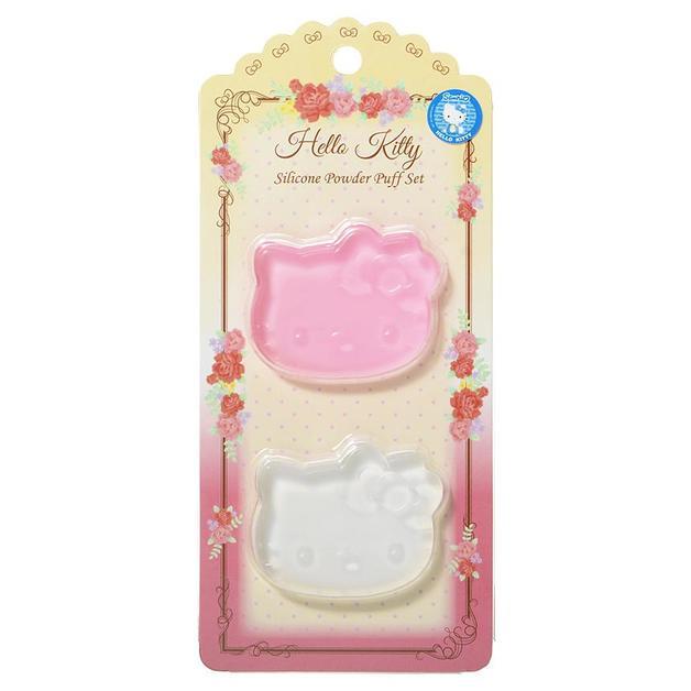 Sanrio: Hello Kitty Silicon Powder Puff Set
