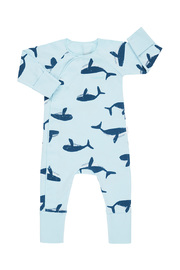 Bonds Newbies Coverall - Petite Whale (Newborn)