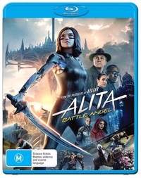 Alita: Battle Angel on Blu-ray