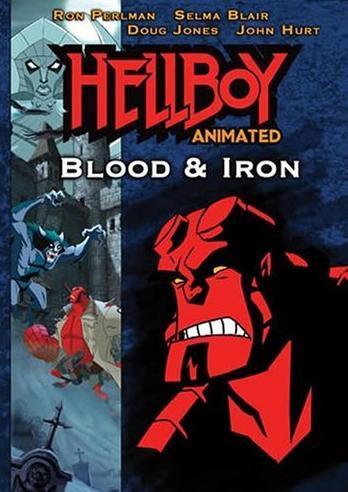 Hellboy Animated - Blood & Iron on DVD image