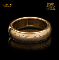 Lord of the Rings: The One Ring - Size R½, Gold Plated