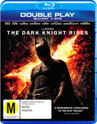 The Dark Knight Rises - Double Play on DVD, Blu-ray image