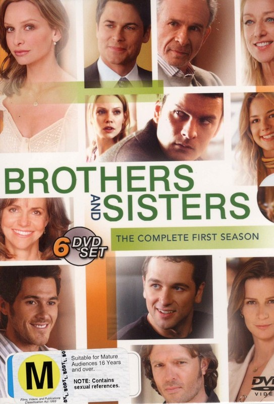 Brothers And Sisters - Season 1 (6 Disc Set) on DVD