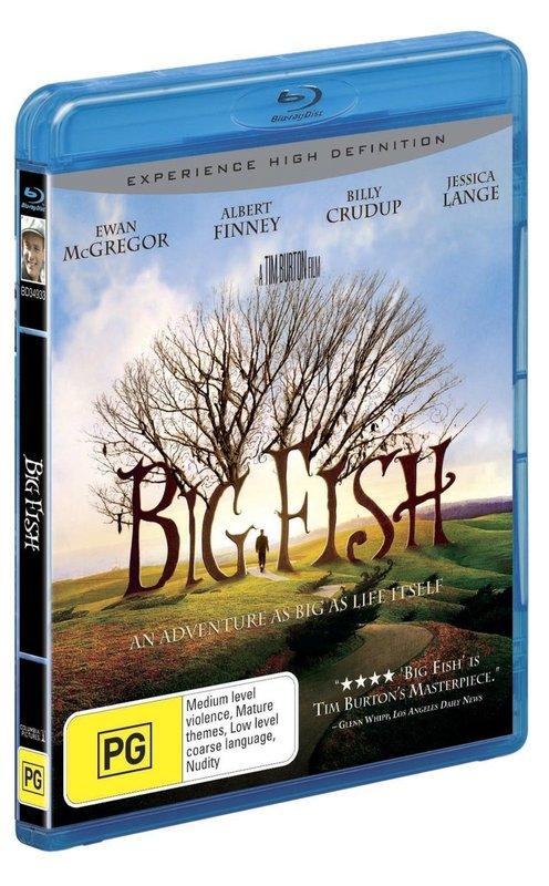 Big Fish on Blu-ray