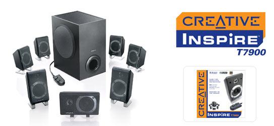 CREATIVE LABS Creative T7900 7.1 Speakers image