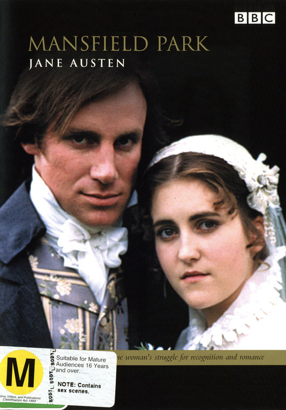 Mansfield Park (2 Disc) on DVD