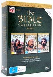 The Bible - Collection: Vol. 3 - Jacob / Jeremiah / Solomon (3 Disc Box Set) on DVD image
