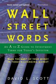 Wall Street Words by David L Scott