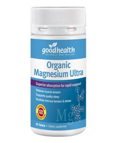 Good Health Organic Magnesium Ultra (60 Tablets)