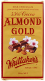 Whittakers Almond Gold Block (250g)