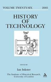 History of Technology: v. 26 image