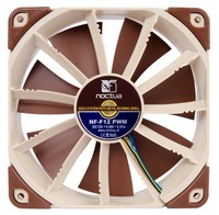 120mm Noctua NF-F12 4-pin PWM, 1500/1200rpm Max, Focused Flow System