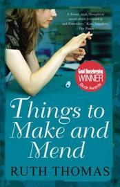 Things to Make and Mend by Ruth Thomas image