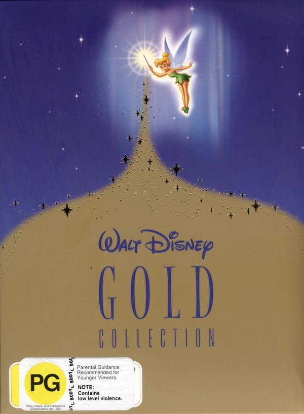 Walt Disney Gold Collection (10 Disc Gift Box) on DVD image