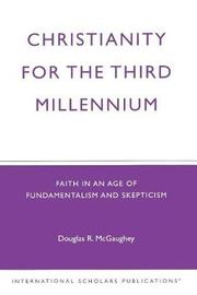 Christianity for the Third Millennium by Douglas R. McGaughey image