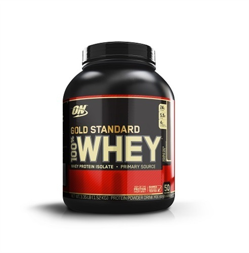 Optimum Nutrition Gold Standard 100% Whey - Double Rich Chocolate (1.52kg) image