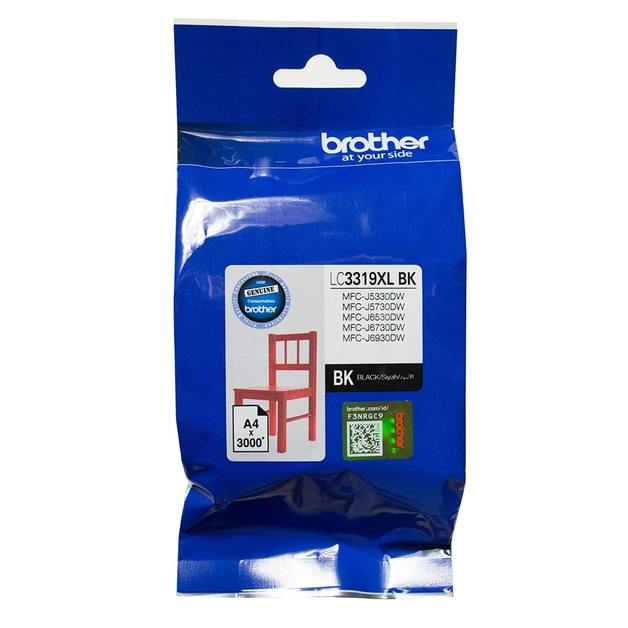 Brother LC3319XLBK High Yield Ink Cartridge (Black)
