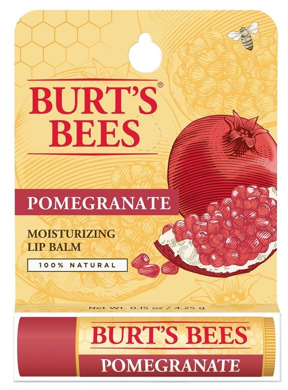 Burt's Bees: Lip Balm Tube - Pomegranate (4.25g)