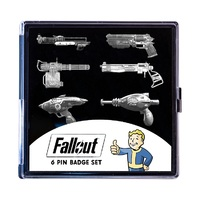 Fallout: Pin Badge Set - Wasteland Weapons (6-Piece)