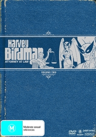 Harvey Birdman - Attorney At Law: Vol. 2 (2 Disc Set) on DVD image
