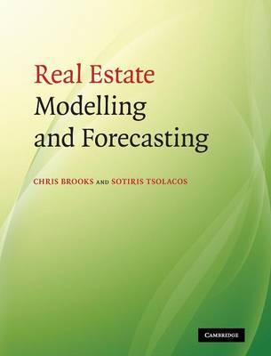 Real Estate Modelling and Forecasting by Chris Brooks image