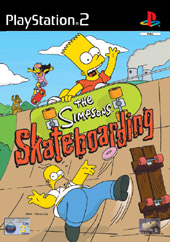 Simpsons Skateboarding for PS2