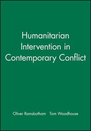 Humanitarian Intervention in Contemporary Conflict by Oliver Ramsbotham image