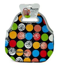 Go Gourmet Lunch Tote - Polka Dots