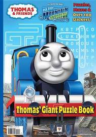 Thomas & Friends: Thomas' Giant Puzzle Book by W. Awdry