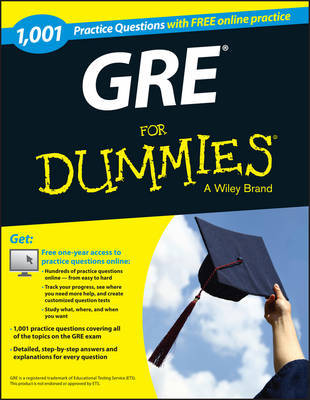 1,001 GRE Practice Questions For Dummies (+ Free Online Practice) by Consumer Dummies