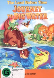 The Land Before Time - Vol 9 - Journey To Big Water on DVD